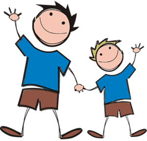 Image of father and son for understanding super keyword in java